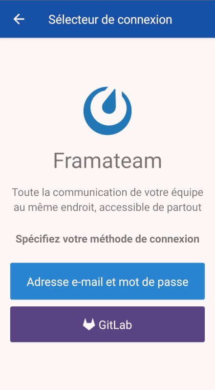 fr/mattermost/images/framateam_android_choix_connexion.jpg